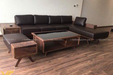 Sofa gỗ sang trọng đẹp SFG-3010