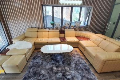 Sofa góc da hiện đại đẹp SHD-2004 1