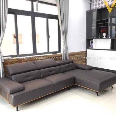 Sofa góc da hiện đại đẹp SHD-2011 1