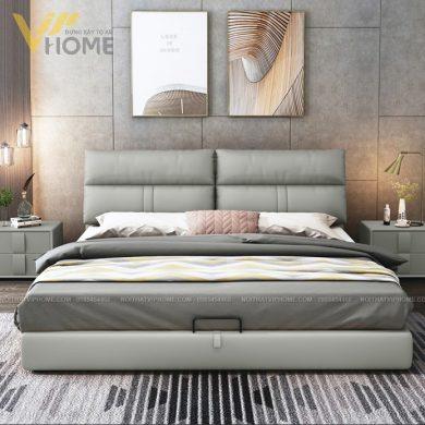 giường ngủ bọc đệm cao cấp đẹp