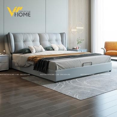 Giường ngủ đôi hiện đại đẹp GBD-20083