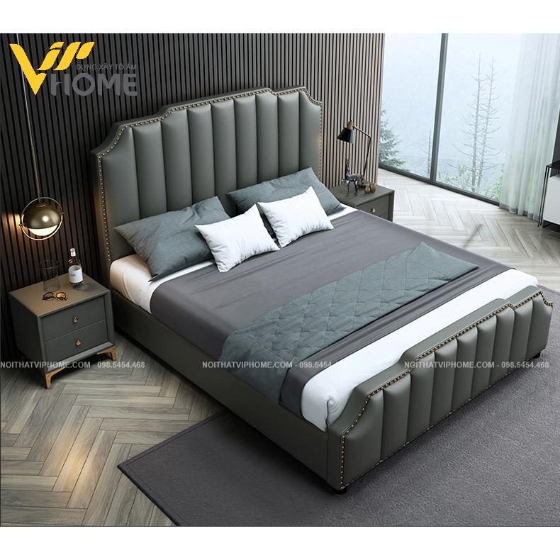 Giường ngủ đôi hiện đại đẹp GBD-20088
