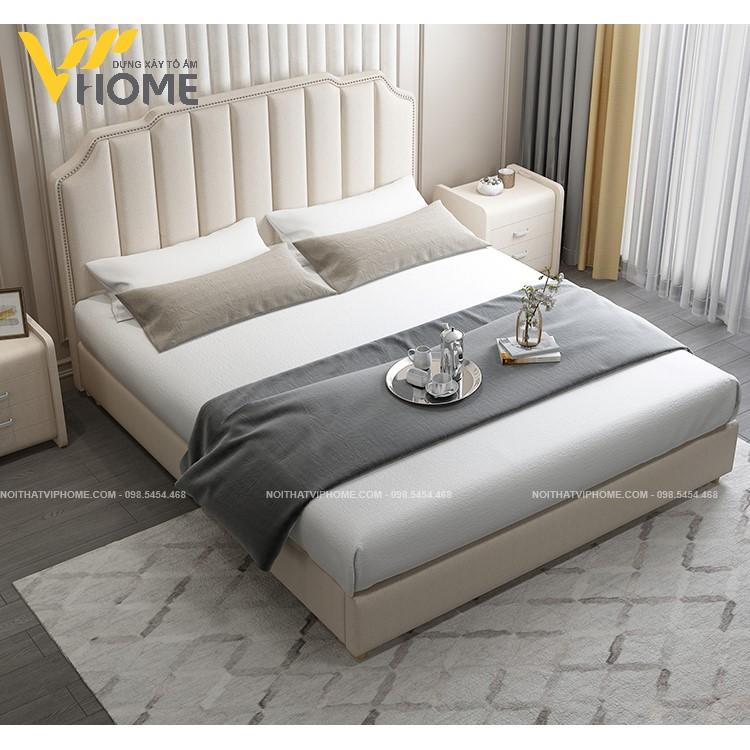 Giường ngủ đôi hiện đại đẹp GBD-20089