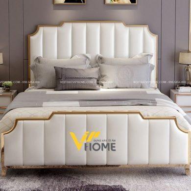 Giường ngủ đôi hiện đại đẹp GBD-20090