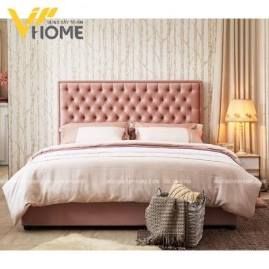 Giường ngủ đôi hiện đại đẹp GBD-20096