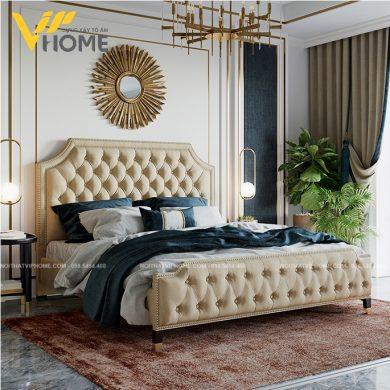 Giường ngủ đôi hiện đại đẹp GBD-20097