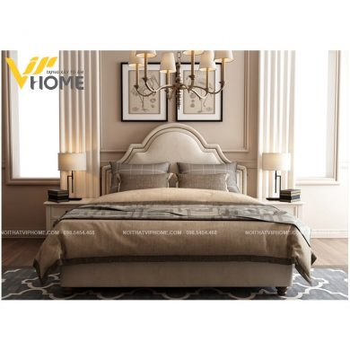 Giường ngủ đôi hiện đại đẹp GBD-20098