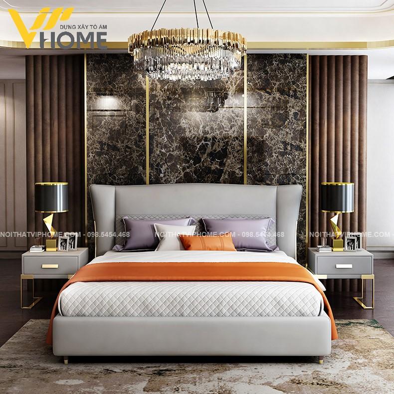 Giường ngủ đôi hiện đại đẹp GBD-2070
