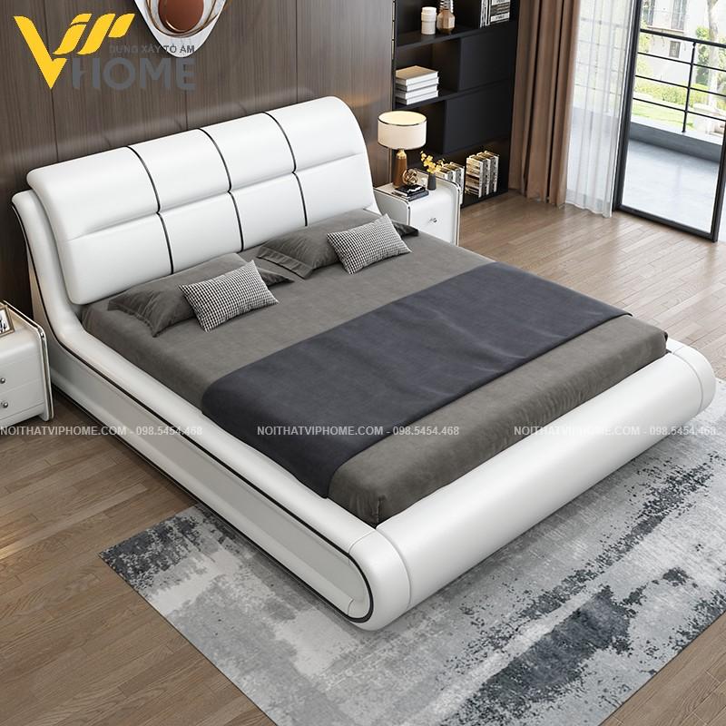 Giường ngủ đôi hiện đại đẹp GBD-2072