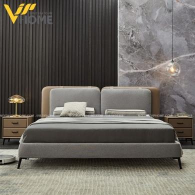 Giường ngủ đôi hiện đại đẹp GBD-2073
