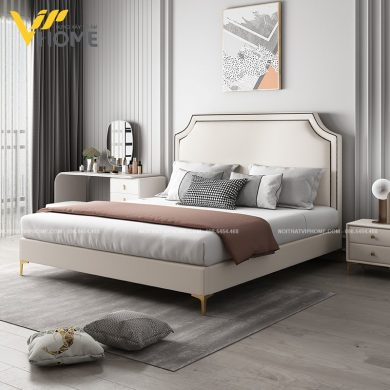 Giường ngủ đôi hiện đại đẹp GBD-2075