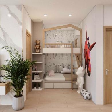 Giường tầng trẻ em đẹp GBD-230006