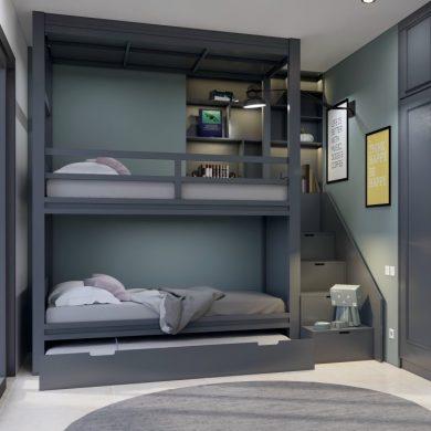 Giường tầng trẻ em đẹp GBD-230007