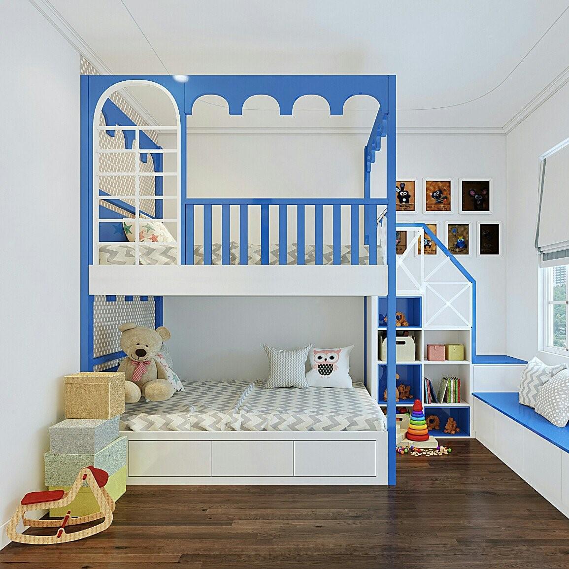 Giường tầng trẻ em đẹp GBD-230010