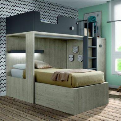 Giường tầng trẻ em đẹp GBD-230013