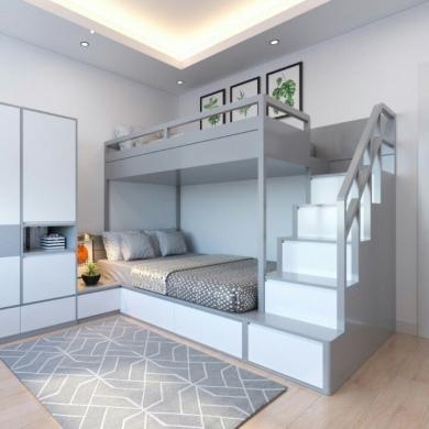 Giường tầng trẻ em đẹp GBD-230015