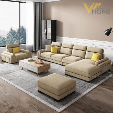 Sofa da cao cấp đẹp SHD-2036