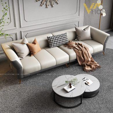 Sofa da cao cấp đẹp SHD-2044