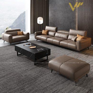 Sofa da cao cấp đẹp SHD-2045