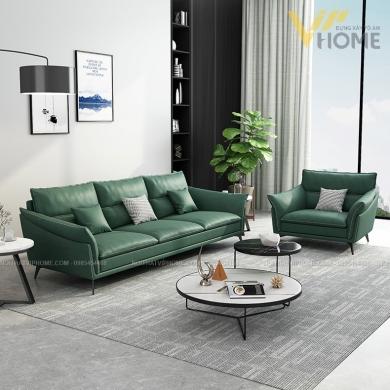 Sofa da cao cấp đẹp SHD-2069