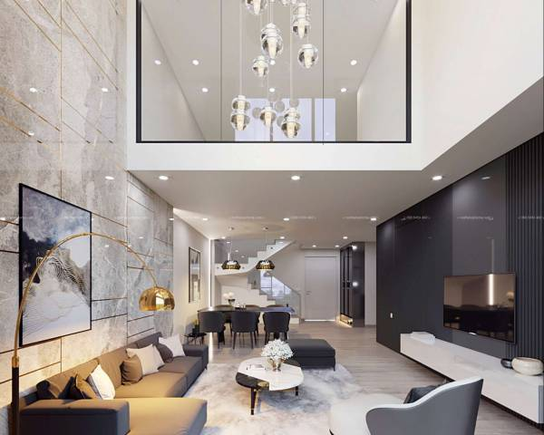Thiết kệ nội thất chung cư hiện đại đẹp
