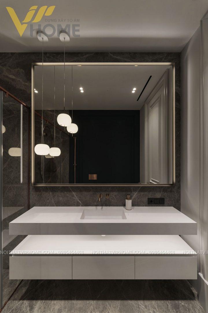 Thiết kế thi công nội thất biệt thự sang trọng đẹp