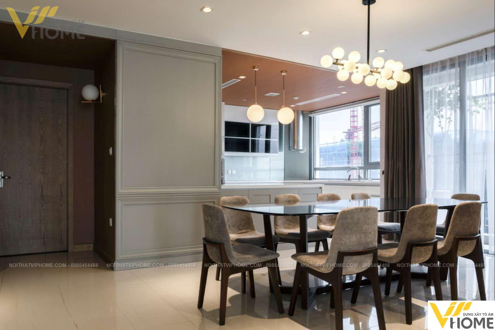 Thiết kế thi công nội thất chung cư sang trọng đẹp