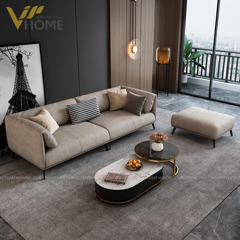 Sofa da cao cấp đẹp SHD-2091