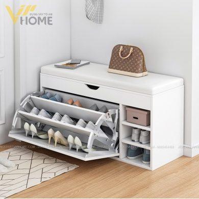 Tủ giày thông minh hiện đại đẹp